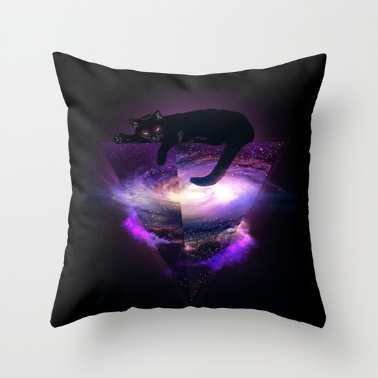 The king of the known universe Throw Pillow