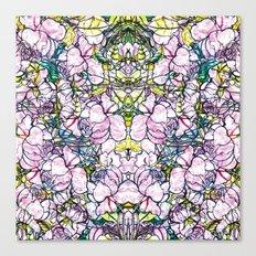 Rose bushes Canvas Print
