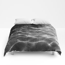 Ripple in Time Comforters