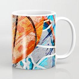 Modern basketball art 3 Coffee Mug