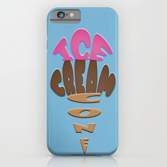 Ice Cream Cone iPhone & iPod Case