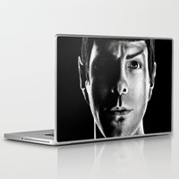 spock Laptop & iPad Skins featuring Spock by Sarah Riebe