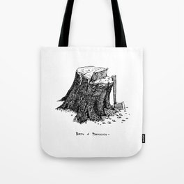 Birth of Pinocchio Tote Bag