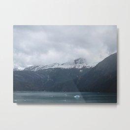 Mountainous Horizon Metal Print