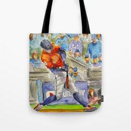 George Springer - Astros Outfielder Tote Bag