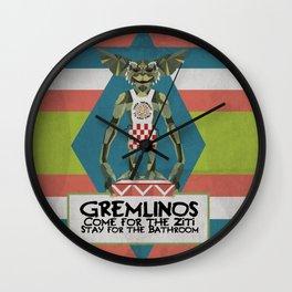 Gremlinos Late night restaurant Wall Clock