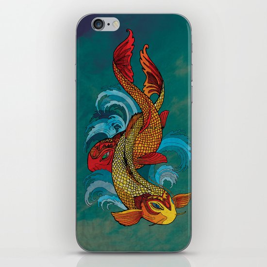 A tale of two fins. iPhone & iPod Skin