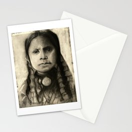 Portrait of Standing Holy Stationery Cards