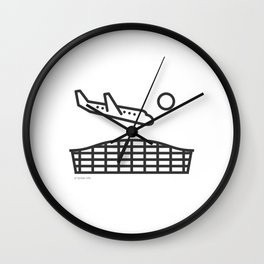 London Heathrow (LHR) Icon Wall Clock