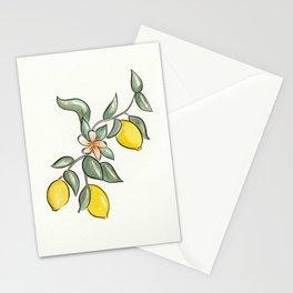 Lemon Branch Stationery Cards