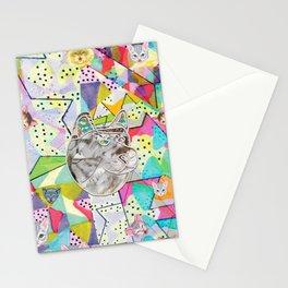 Pattern x Dog  Stationery Cards