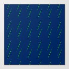 Rain in the Dark Canvas Print