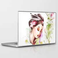 japanese Laptop & iPad Skins featuring Japanese by tatiana-teni
