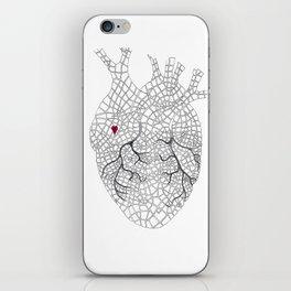 heart map iPhone Skin