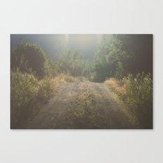 Backroad Wandering Canvas Print