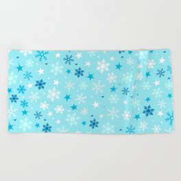 Let it snow! Beach Towel