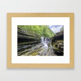Four falls walk waterfall 1 Framed Art Print