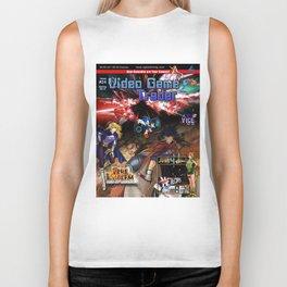 Video Game Trader #24 Cover Design  Biker Tank