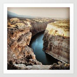 Devils Canyon II Art Print