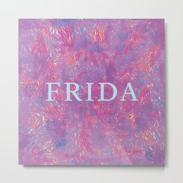 Frida 2 Metal Print