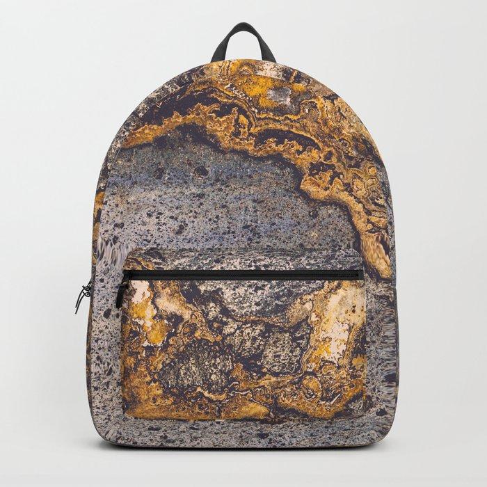 Gold Inlay Marble II Backpack