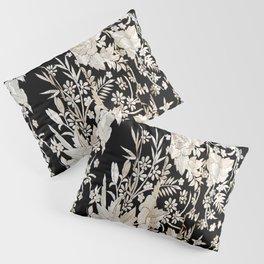 Black and White Flowers by Lika Ramati Pillow Sham