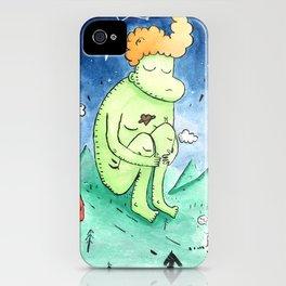 Naked Giant iPhone Case