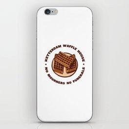 Ketterdam Waffle House iPhone Skin