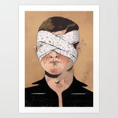 X-Ray Eyes Art Print
