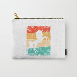 Unicorn T Shirt Unicorn TShirt Unicorns Shirt Wild Animal Gift Idea  Carry-All Pouch