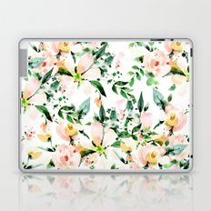 Flowered Laptop & iPad Skin