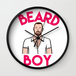 Beard Boy: Graeme Wall Clock