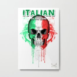 To The Core Collection: Italy Metal Print