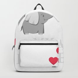My Best Aunt Loves Me Good Nephew And Elephant Fan Gift Backpack