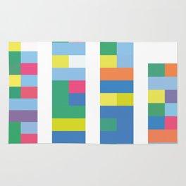 Color Code Blocks Rug
