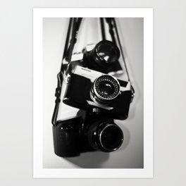 more camera lovin' Art Print