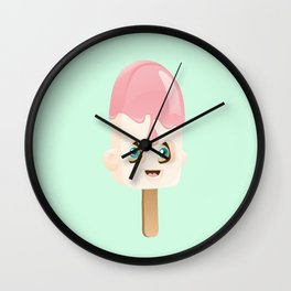 Vanila Ice Cream Wall Clock