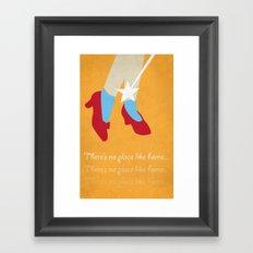 No Place Like Home... Framed Art Print