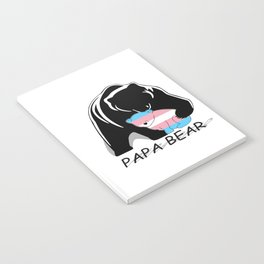 Papa Bear Transgender Notebook
