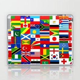 Flag Montage Laptop & iPad Skin