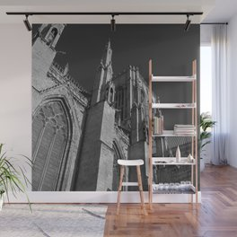 Tower (B & W) Wall Mural