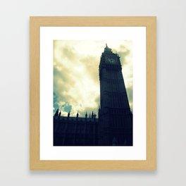 Hello Ben. Framed Art Print