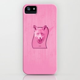 Hunting Series: The Pink Fox Head iPhone Case