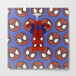 MU Pony Spider-man Metal Print