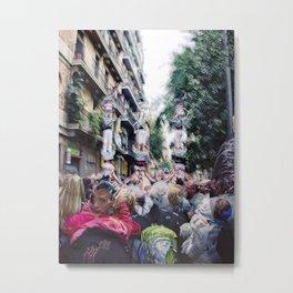 Sunday 11 November 2012: acceptable social climbing scenario Metal Print