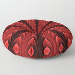 Spear Points in Blood Red Floor Pillow