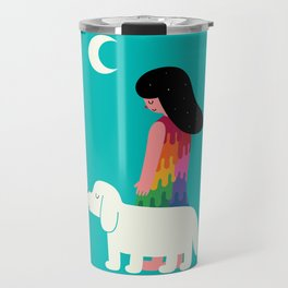 As Time Passes By Travel Mug