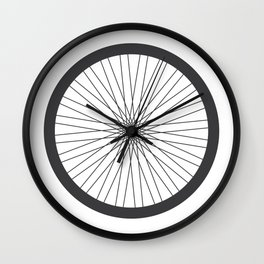 On your bike Wall Clock