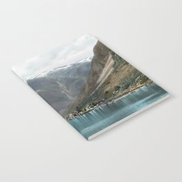 Village by the Lake & Mountains Notebook