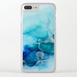 blues in summer Clear iPhone Case